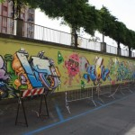 Collective wall Corso Bramante
